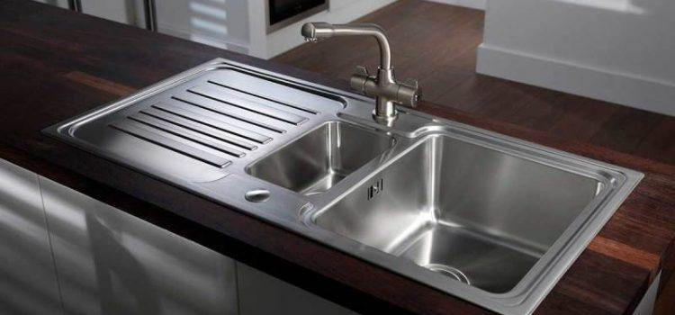 روش تمیز کردن سینک ظرفشویی
