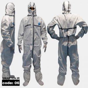 لباس یکبار مصرف اتاق تمیز کد 06